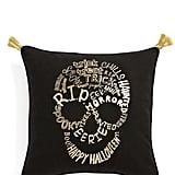 Levtex Skull Tassel Pillow ($40)