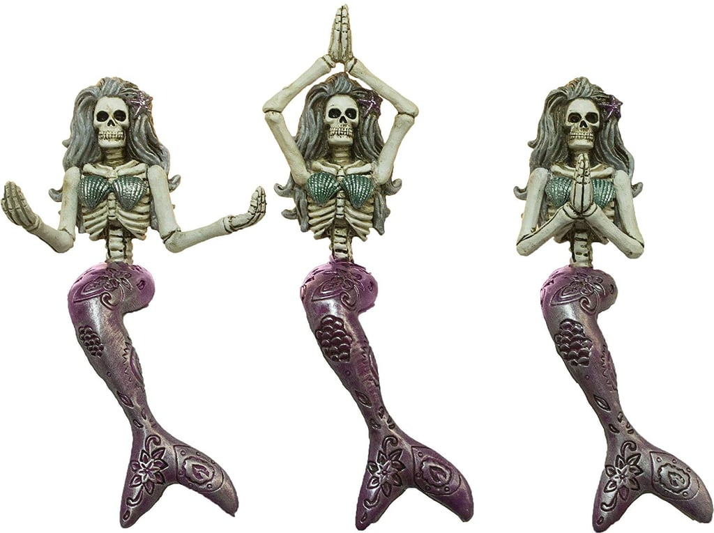 These Dead Mermaid Yoga Skeletons Are Hauntingly Beautiful