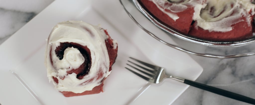 Red Velvet Cinnamon Rolls | Food Video