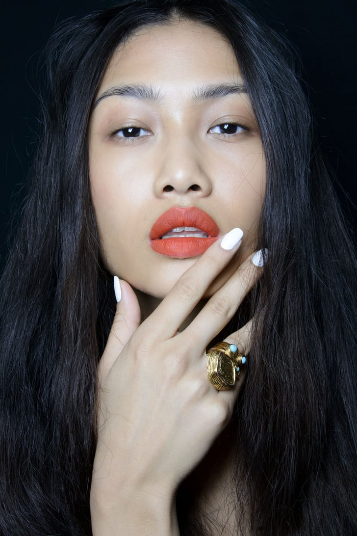 White Nails | Beauty Trends Spring 2014