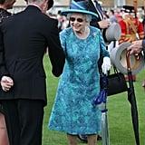 Queen Elizabeth II Buckingham Palace Garden Party May 2018