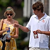 Taylor Swift and Conor Kennedy had lunch together.