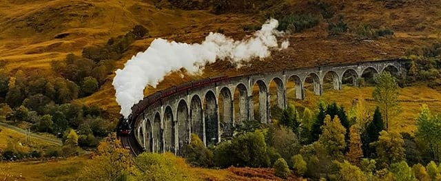 Scenic Train Rides in the UK