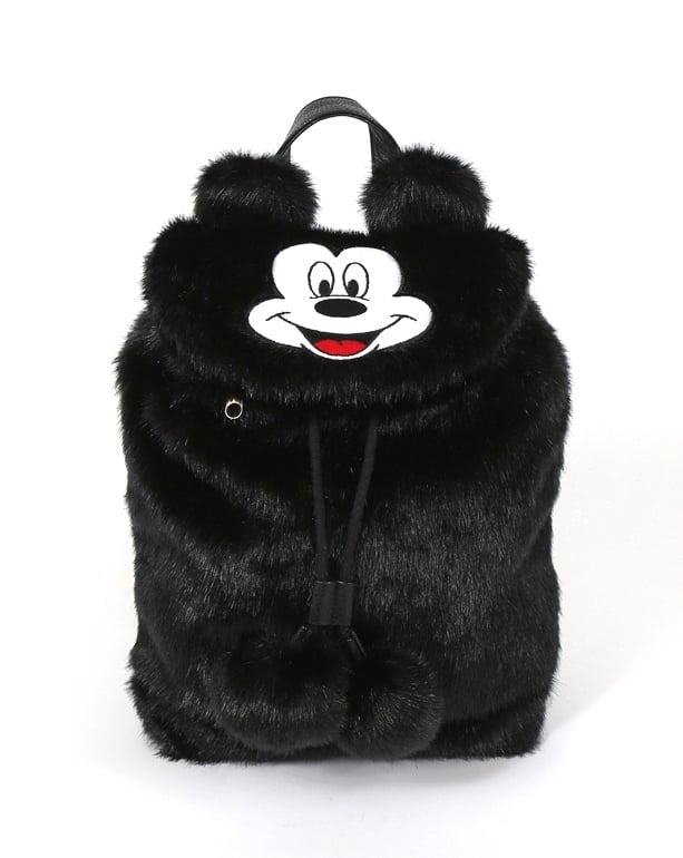 Disney x Lazy Oaf Mickey Mouse Faux Fur Backpack ($98)