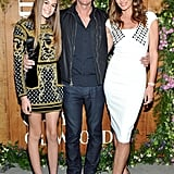 Cindy Crawford and Kaia Gerber Wearing Leg-Baring Dresses in 2015