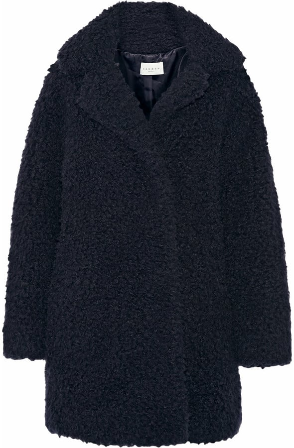 Sandro Meryl Oversized Faux Shearling Coat ($745)