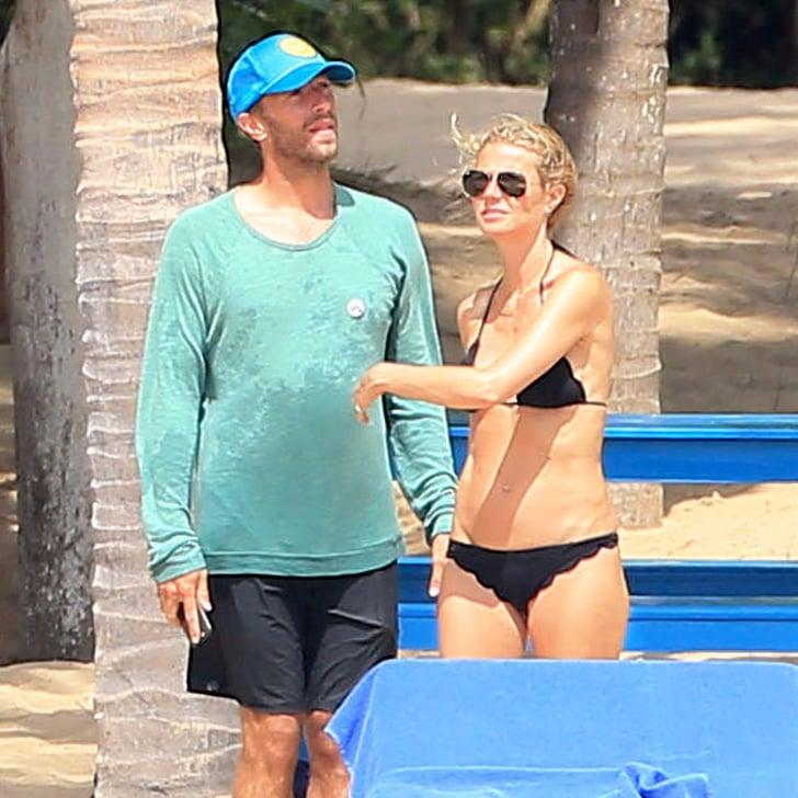 Gwyneth Paltrow and Chris Martin on Spring Break