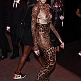 Are you feeling Winnie Harlow's all-leopard catsuit?