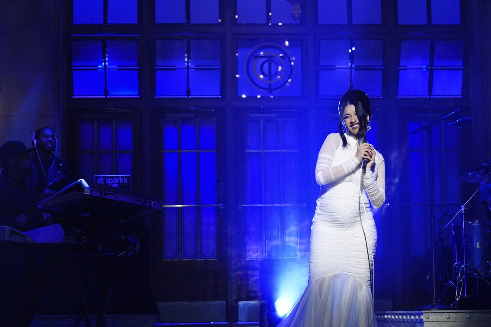 Cardi B Redefined Maternity Style