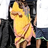 Beyoncé Knowles checked out some real estate in Miami.