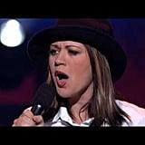 """American Idol, 2002: """"(You Make Me Feel Like) A Natural Woman"""""""