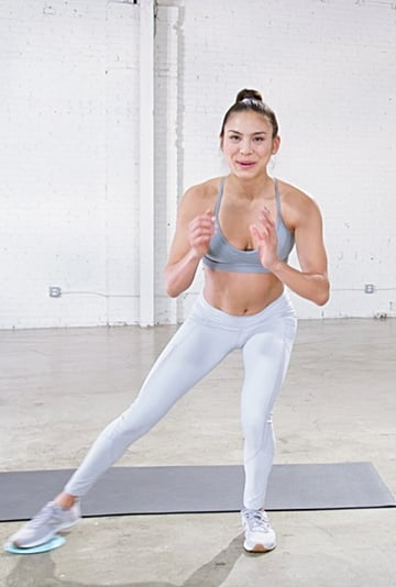 Total-Body Slider Workout You Can Do at Home