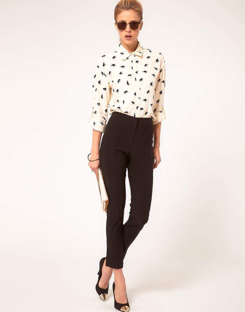 The quintessential pair of skinny pants that you could easily build your entire working wardrobe off of.  ASOS Skinny Crop Pant ($38)