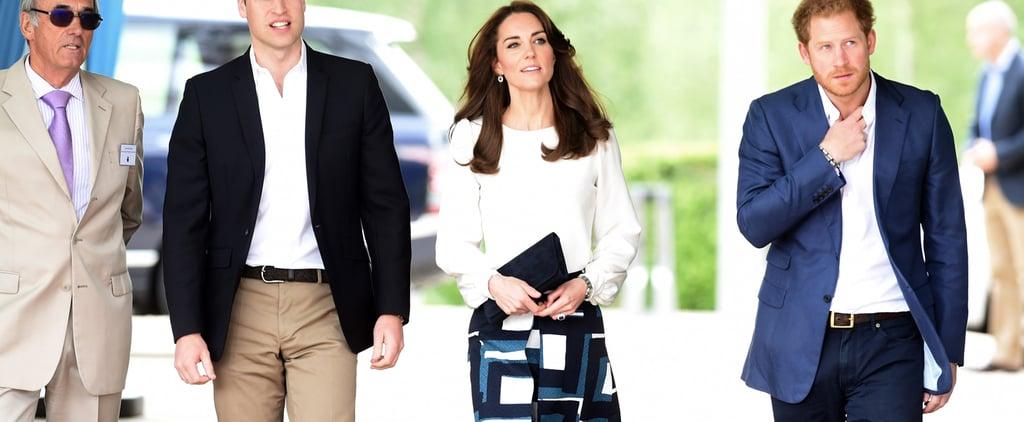 Duchess of Cambridge Banana Republic Skirt May 2016