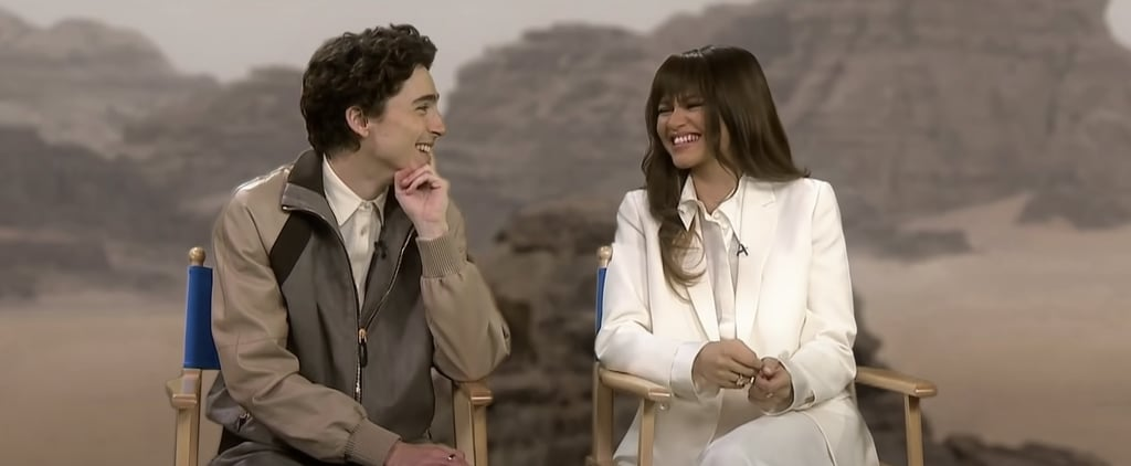 Timothée Chalamet and Zendaya Bonded Over Fart Jokes on Dune