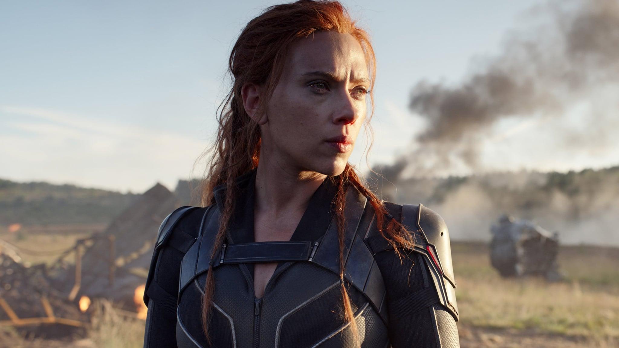 BLACK WIDOW, Scarlett Johansson as Black Widow, 2020.  Walt Disney Studios Motion Pictures /  Marvel Studios / Courtesy Everett Collection