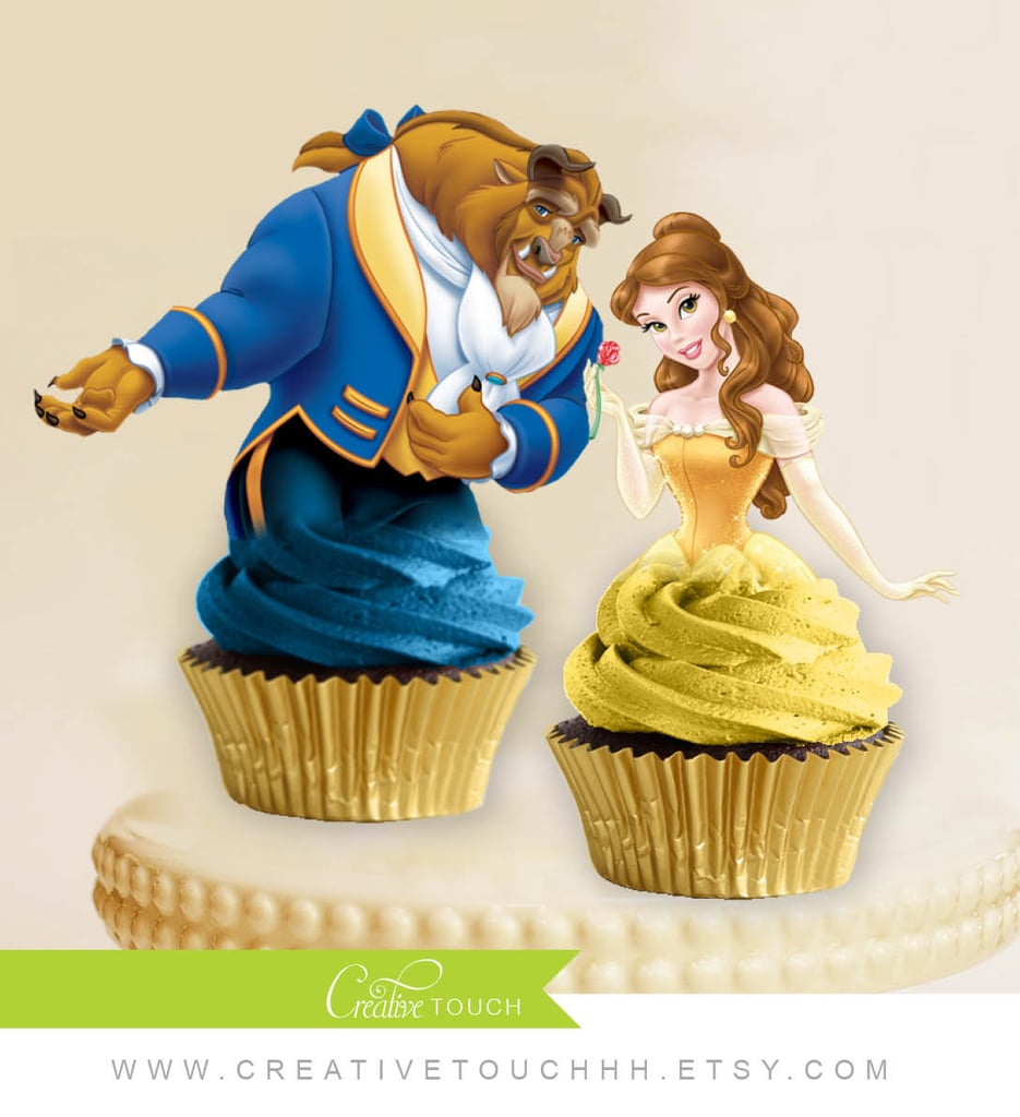 beauty and the beast party decorations popsugar moms. Black Bedroom Furniture Sets. Home Design Ideas