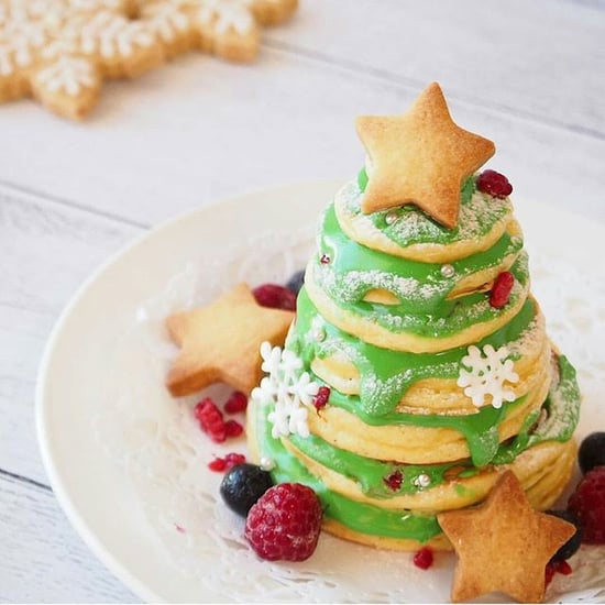 Christmas Breakfast Pancakes For Kids