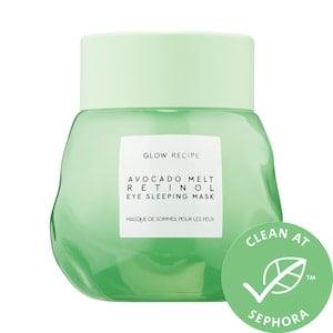 Avocado Melt Retinol Eye Sleeping Mask - Glow Recipe | Sephora