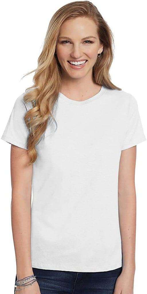 Hanes Relaxed Fit Jersey ComfortSoft Crewneck T-Shirt