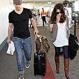 Channing Tatum and Jenna Dewan Take Off For NYC