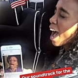 Nicole Richie and Kelly Rowland Drive People to Vote