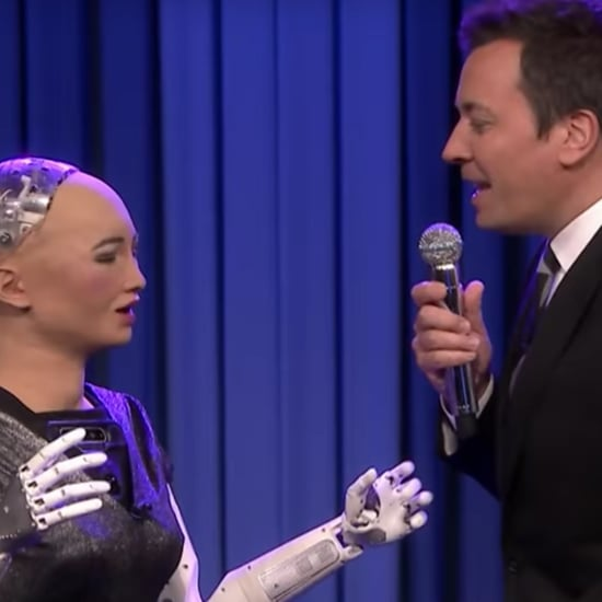 Jimmy Fallon and Sophia the Robot Sing Say Something Video