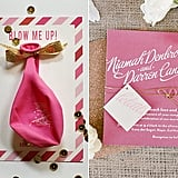 Your Questions, Answered: Save the Dates vs. Invitations  Long before your wedding date, guests will get their first impression of the event through your paper goods, so you want to be sure that your save the dates and invitations are right in line with your vision. Still, with so many creative, out-of-the-box ideas highlighted on Pinterest and wedding blogs, trying to find your original style for paper goods can feel intimidating — especially when you're trying to stick to a budget. Read on for answers to the most common questions related to paper goods, plus expert tips on style, trends, and logistics.