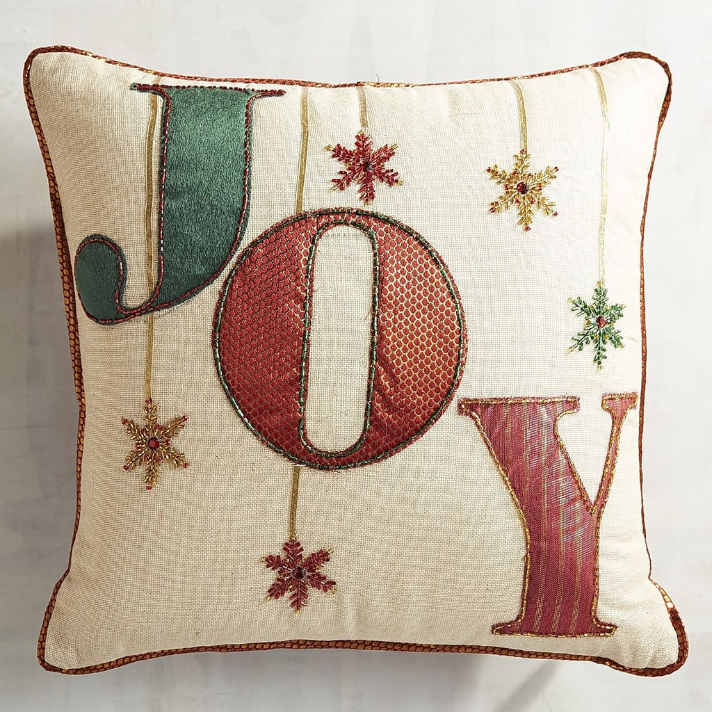 Embellished Joy Pillow ($23, originally $30)