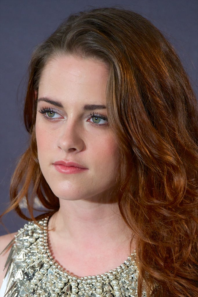 Kristen Stewart was out in Madrid to promote Taylor Breaking Dawn —Part 2.