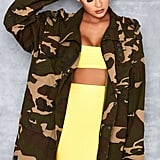 Mistress Rocks Camouflage Jacket