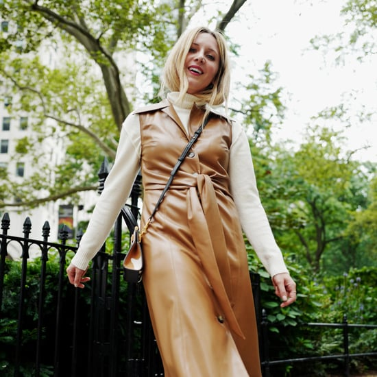 Easy Outfit Idea: How to Wear a Leather Dress