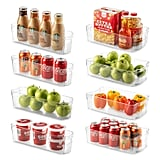Set of 8 Refrigerator Organizer Bins