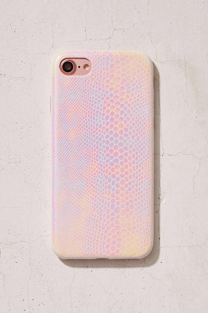 غطاء حماية على هيئة نسيج جلدي جميل لأجهزة آيفون 7 (بسعر 28$ دولار أمريكي؛ 103 درهم إماراتي/ريال سعودي)