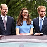In June, Prince Harry, Prince William, and Kate Middleton blazed with smiles at the Patron's Lunch in London.