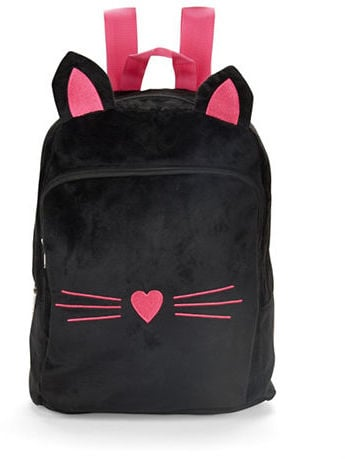 Capelli New York Faux Fur Cat Backpack ($24)