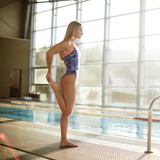 How to Stretch for a Swimming Workout