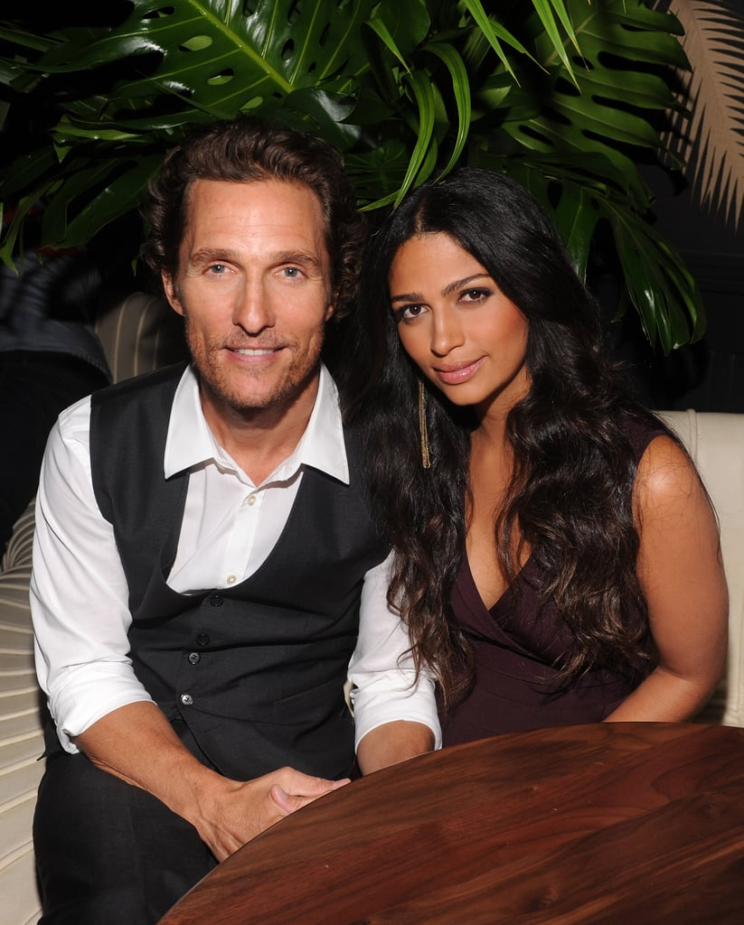 Matthew McConaughey was by Camila Alves's side at an event in her honor in NYC.