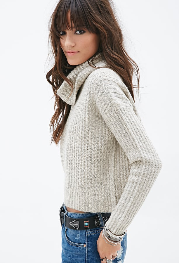 Forever 21 Boxy Turtleneck Sweater Turtleneck Sweaters