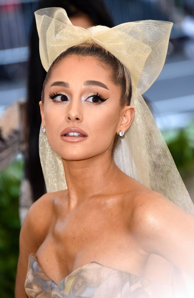 Ariana Grande Hair Met Gala 2018