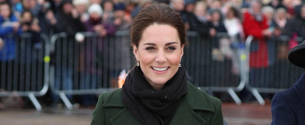 Kate Middleton Green Manu Atelier Bag