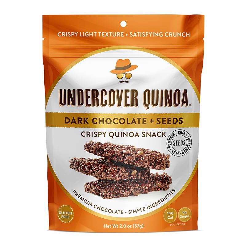Undercover Quinoa Dark Chocolate + Seeds Snacks