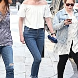 Eleanor Tomlinson Summer Outfit September 2016