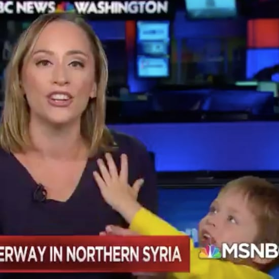 Child Interrupts Mom During MSNBC Broadcast | Video