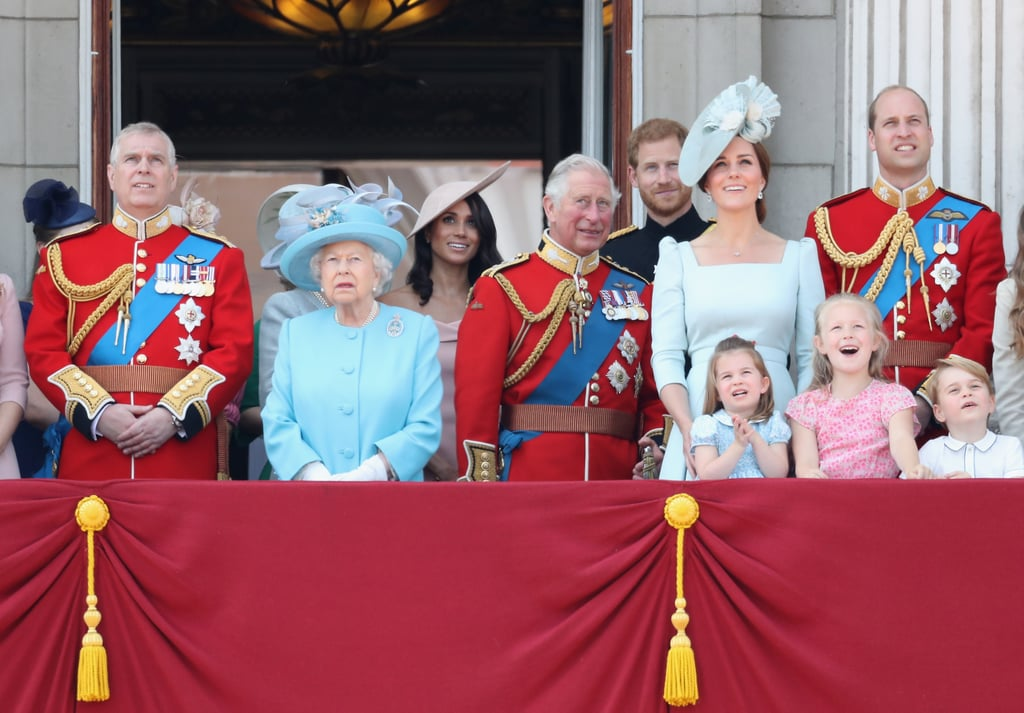 Meghan's First Trooping the Colour