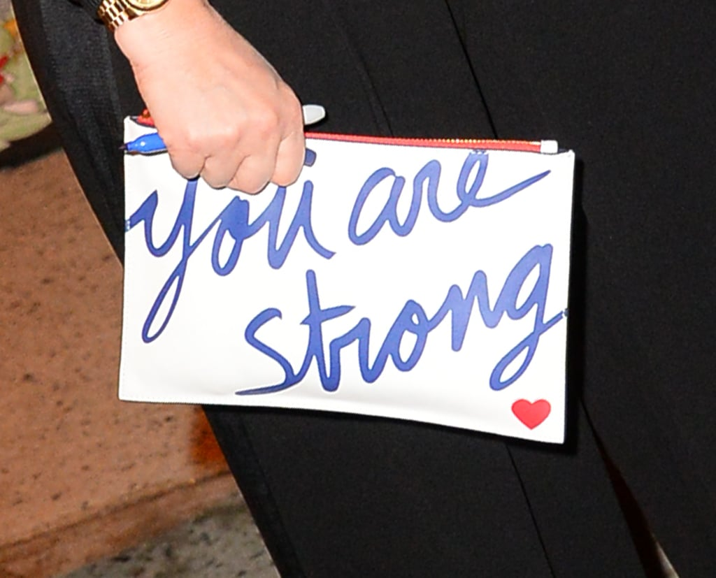 Drew Barrymore's You Are Strong Clutch