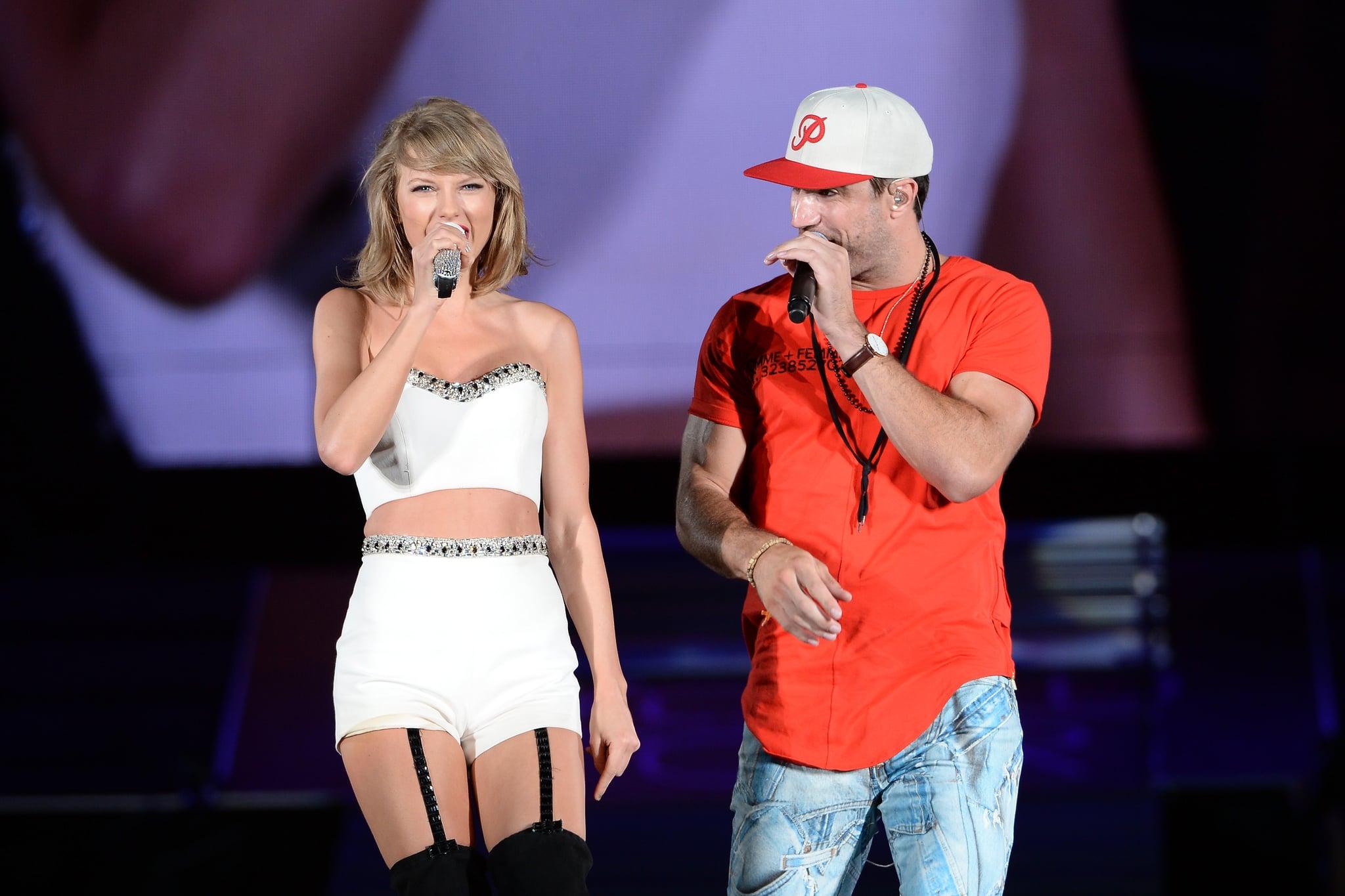 Sam Hunt Performs At Taylor Swift S Concert Video Popsugar Celebrity