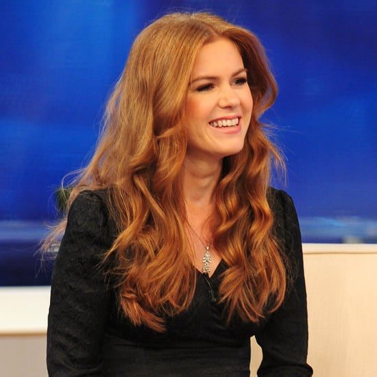 Pictures of Isla Fisher on The Early Show