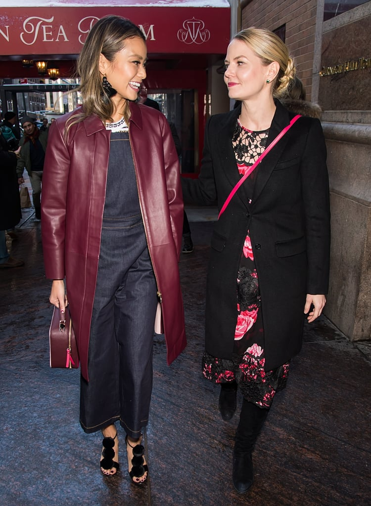 Jennifer Morrison and Jamie Chung in NYC February 2017