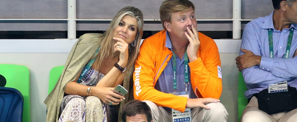 Queen Maxima's Jumpsuit at the Olympics August 2016